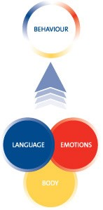 Way of being with language emotions and body